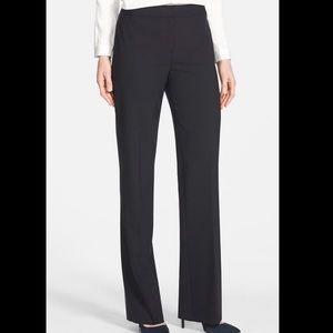 Lafayette 148 NY Stretch Wool Menswear Pant 14 #A0